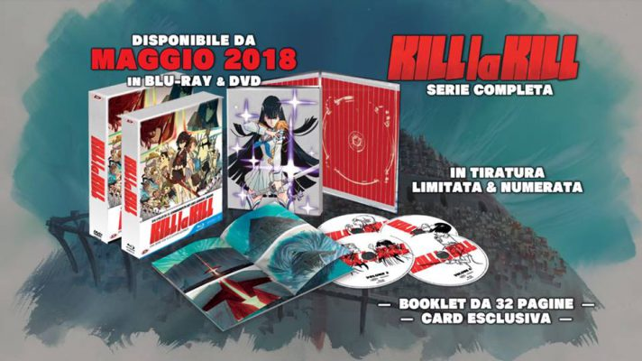 Arriva su Amazon l'edizione limitata di Kill la Kill in Blu-Ray
