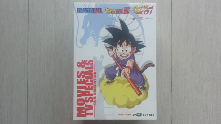 Dragon Ball Movies & Special TV Box Collection