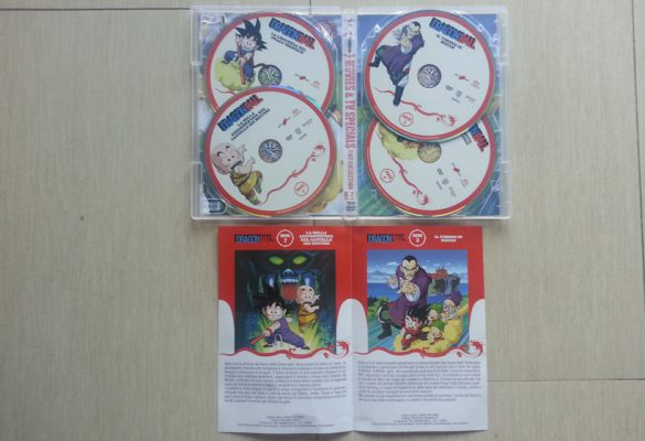 Dragon Ball Movies & Special TV Box Collection: contenuto DVD