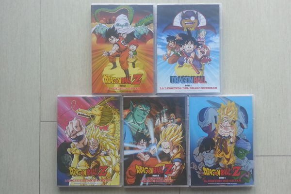 Dragon Ball Movies & Special TV Box Collection: copertine DVD