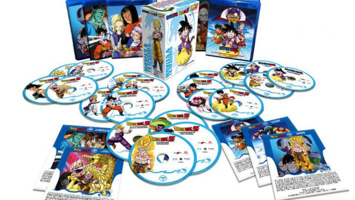 Edizione Blu-Ray di Dragon Ball Movies & Special TV Box Collection