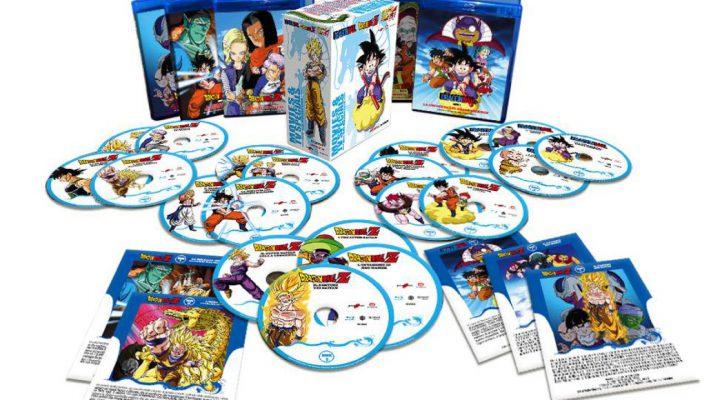 Edizione Blu-Ray di Dragon Ball Movies & Special TV Box Collection