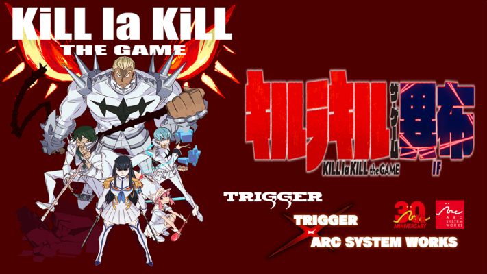 Primo trailer per Kill la Kill the Game: IF