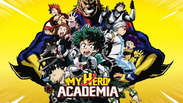 My Hero Academia disponibile in DVD e Blu-Ray dal 7 Novembre