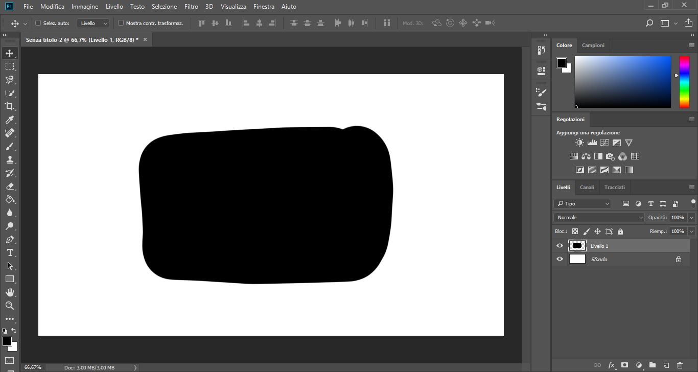 Photoshop: guida all'interfaccia e agli strumenti per il disegno 2