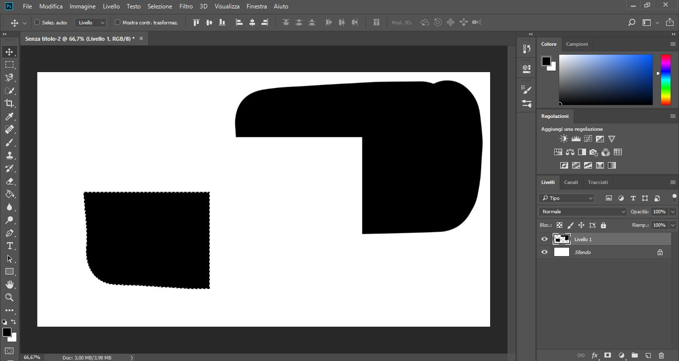 Photoshop: guida all'interfaccia e agli strumenti per il disegno 4