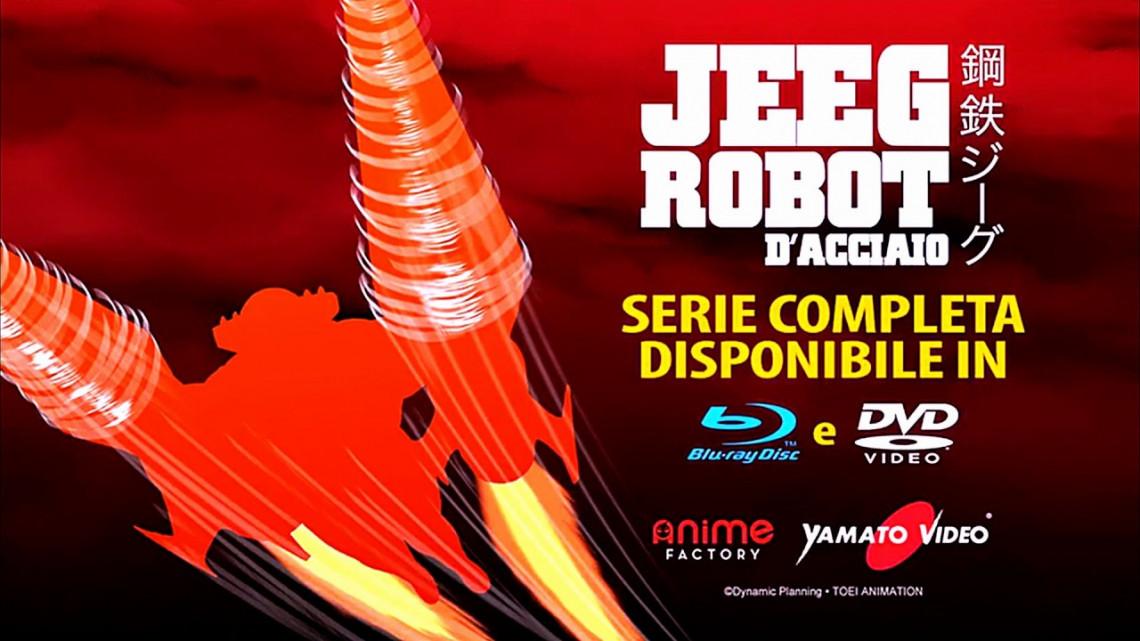 Jeeg Robot D'acciaio: tutti i dettagli del cofanetto in Blu-Ray