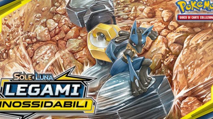 """Disponibile l'espansione """"Legami Inossidabili"""" del Pokémon GCC"""