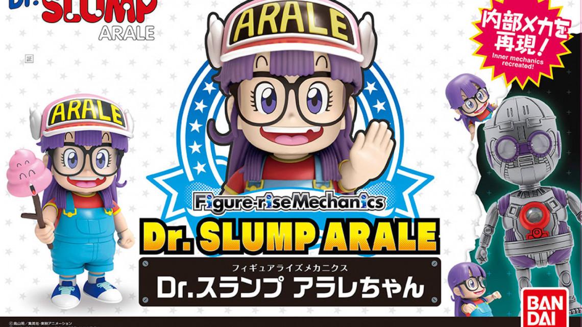 Bandai annuncia l'Arale Norimaki Figure-rise Mechanics