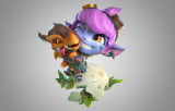 Tristana Mini Figure League of Legends