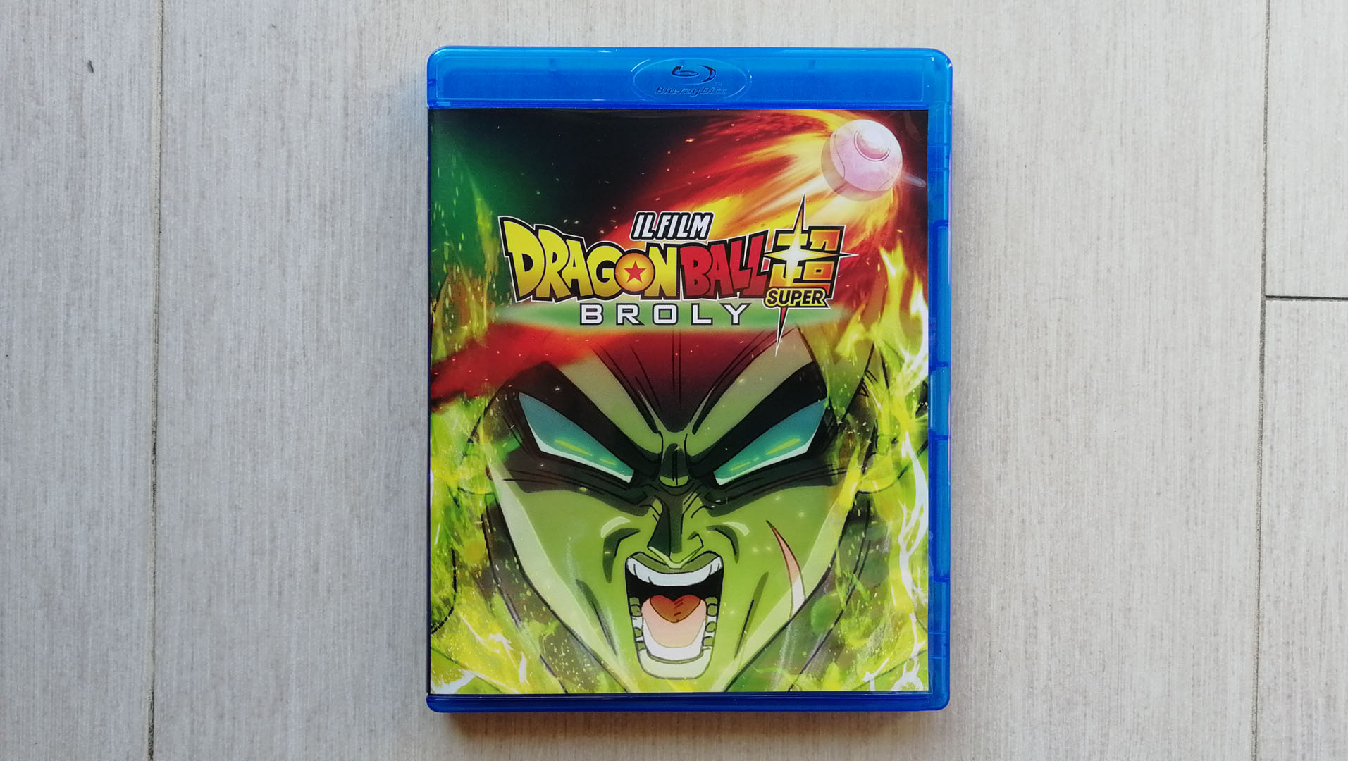 Dragon Ball Super: Broly fronte
