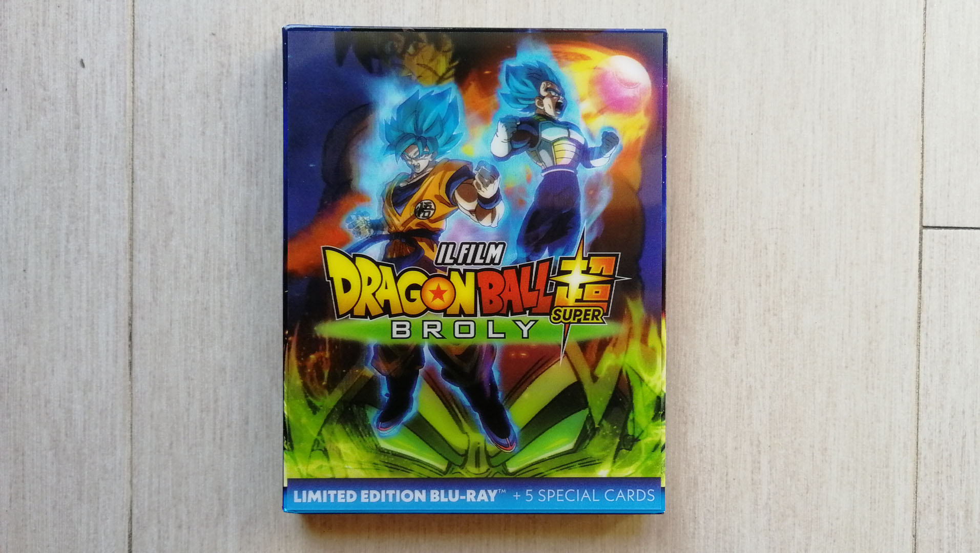 Dragon Ball Super: Broly slipcase