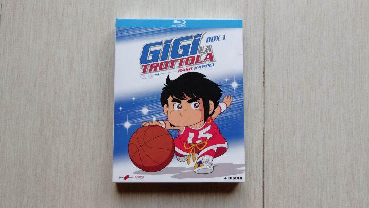 Gigi la Trottola Blu-Ray: dettagli del cofanetto