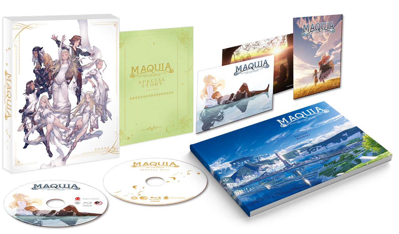 Maquia Ultralimited Edition