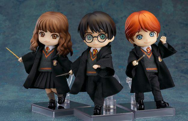 Good Smile Company presenta i Nendoroid di Harry Potter, Ron Weasley e Hermione Granger